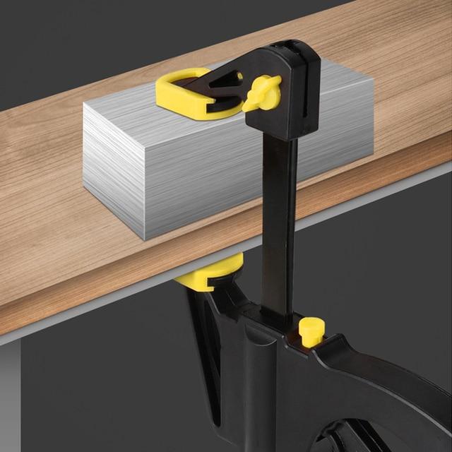 AI-ROAD 2/3/4/5/8Pcs New Woodworking Clamp Bar F Clip 4 Inch Quick Ratchet Wood Working DIY Carpenter Hand Tools 3