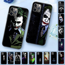 Joker 2019 papel de parede diy luxo high-end caso de telefone para iphone 11 pro xs max 8 7 6 s plus x 5 5S se xr capa(China)