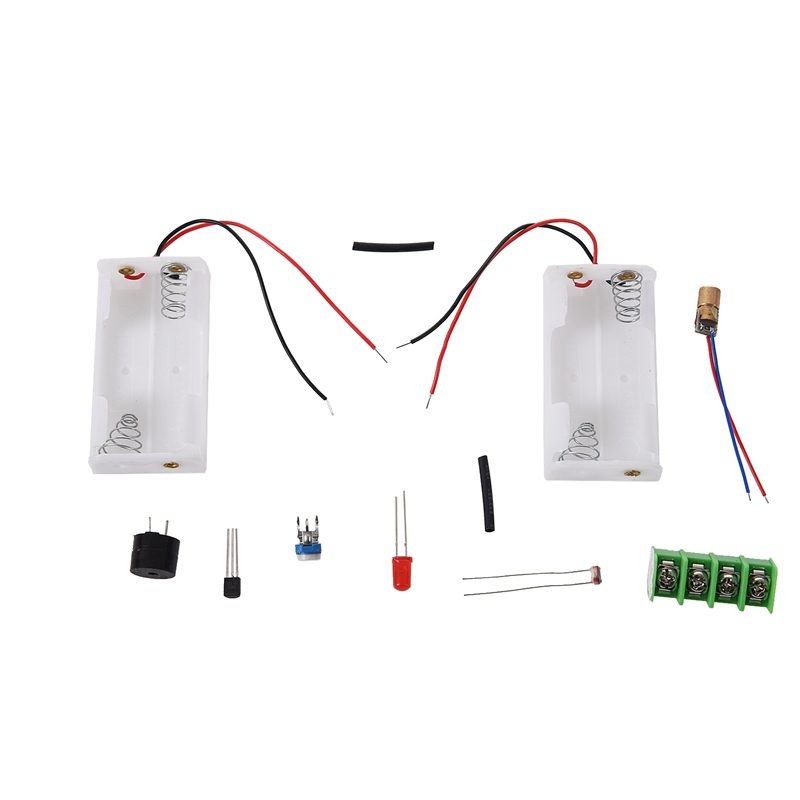 Infrared Laser Alarm Switch Sound / Light Alarm Motion Sensor Security Kits