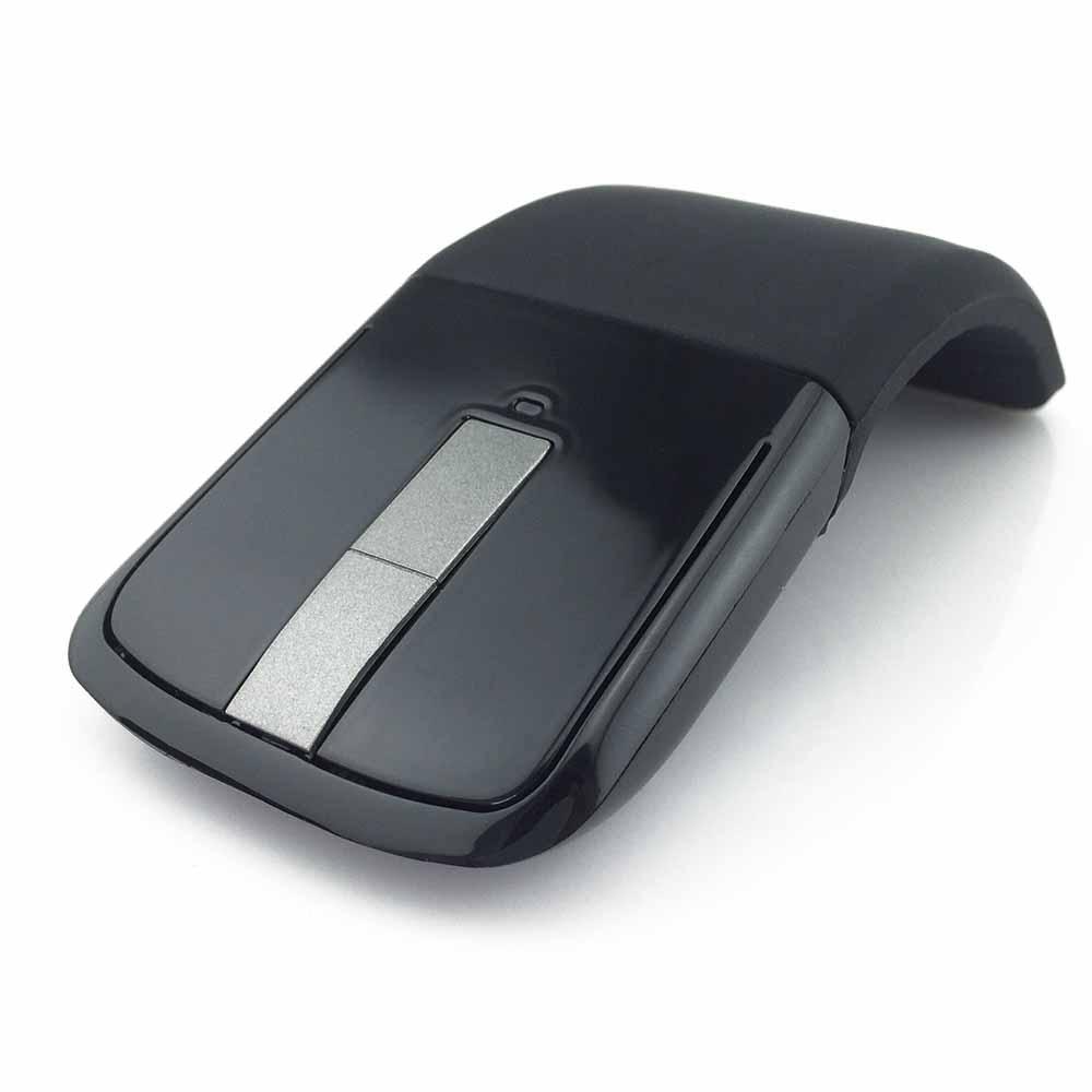 Galleria fotografica 2.4Ghz Mouse Senza Fili Pieghevole Pieghevole Arc Touch Sottile Mouse Del Computer Mouse Da Gioco Mouse per il <font><b>Microsoft</b></font> Surface PC Del Computer Portatile