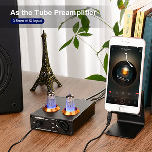Image 5 - AIYIMA HiFi Vacuum 6A2 Tube MM Phono Preamplifier Vinyl Record Player Stereo Tube Preamp Amplifier Turntable Phonograph DIY 12V
