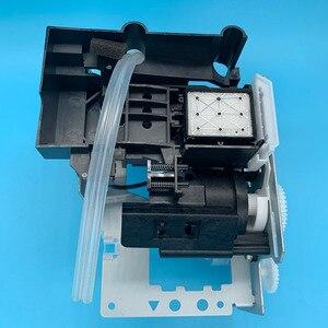 Image 5 - DX5 druckkopf Tinte Auf Wasserbasis Pumpe Montage Capping Station für Epson 7800 7880C 7880 9880 9880C 9800 Pumpe Einheit Reinigung einheit