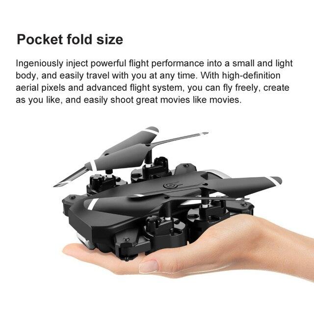 JINHENG RC Drone 4K HD Dual Camera 3