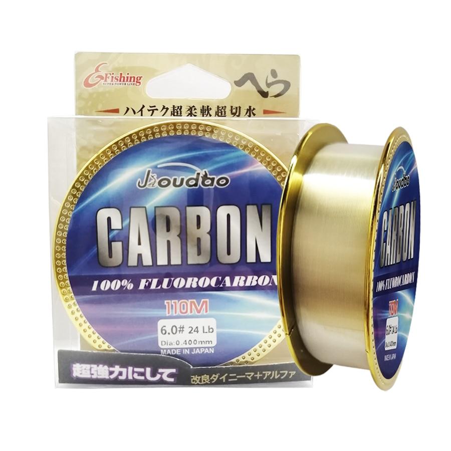 Premium Monofilament olta japon orijinal florokarbon olta s 6LB / 9LB / 10LB / 12LB için tuzlu su tatlısu