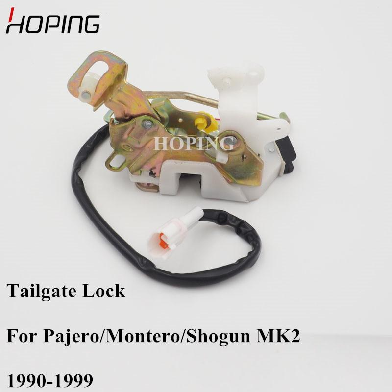 Hoping Auto Rear Door Trunk Latch Tailgate Lock For Mitsubishi Montero Pajero MK2 V31 V32 V33 1990-1999 MB669381