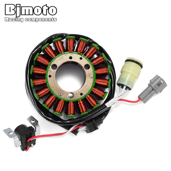 Motorcycle 1C5-81410-00 stator Coil For Yamaha 1C5-81410-01 YFM125G Grizzly 125 2004-2013 YFM125GH Grizzly 125 Hunter 2005-2008