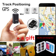 Mini GF 07 GPS Tracker Car GPS Locator Tracker Anti Lost Recording SOS Tracking Device for Car Children Location Tracker Locator