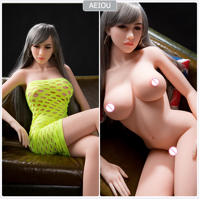 <font><b>158cm</b></font> Lifelike Silicone <font><b>Sex</b></font> <font><b>Dolls</b></font> Realistic Oral Anal big Breast Love <font><b>Doll</b></font> <font><b>TPE</b></font> with Metal Skeleton <font><b>Sex</b></font> Toys For Men Masturbation image