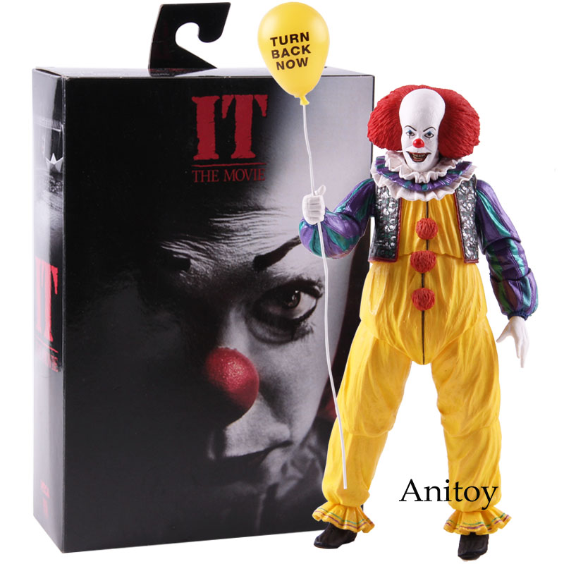 NECA Stephen King's It Pennywise The Clown IT Movie 1990 Ultimate PVC NECA Horror Action Figures Collectible Model Toy