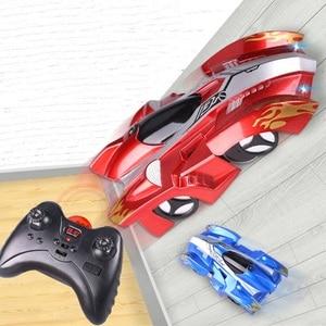 Image 2 - RC Wall Racingรถของเล่นที่มีไฟLEDรีโมทคอนโทรล 360 องศาหมุนStunt Antiแรงโน้มถ่วงของเล่นรถของขวัญเด็ก