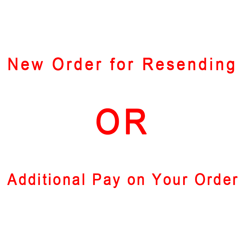 Additional Pay on Your Order/New Order for Rsending-VIP link