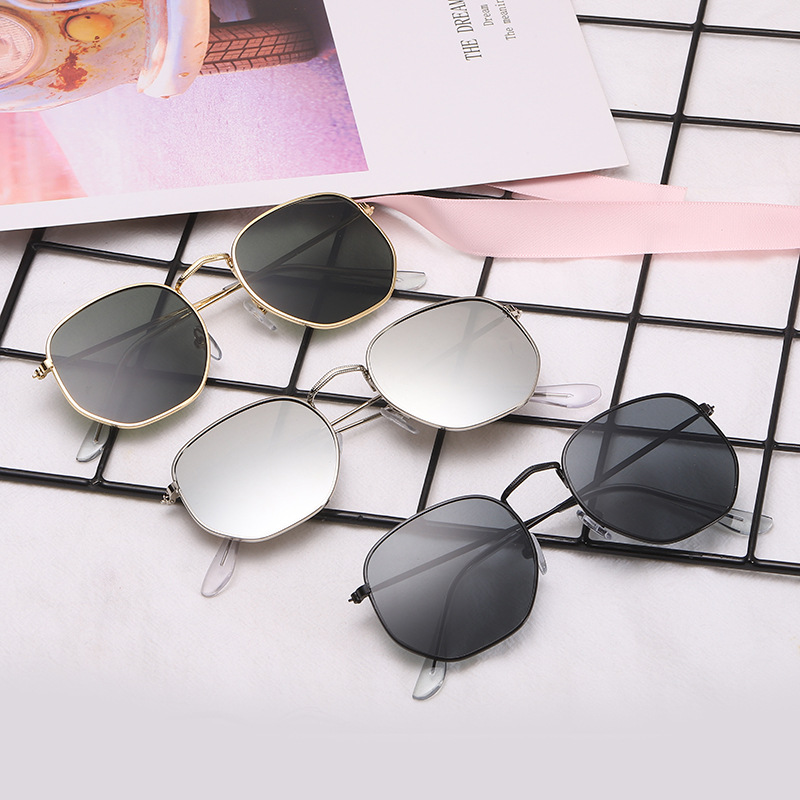 2020 Retro Round Goggles Sunglasses Women Brand Designer Sun Glasses For Women Alloy Mirror Sunglasses Ray Female Oculos De Sol