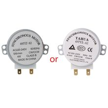 1Pc x Microwave Motor CW/CCW 4 W 5/6 RPM AC 220-240V Rotary Table Synchronous 49TYZ-A2 #Y05# #C05#
