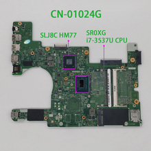 for Dell Inspiron 5523 CN 01024G 01024G 1024G I7 3537U DMB50 11307 1 PWB: 1319F Laptop Motherboard Mainboard Tested