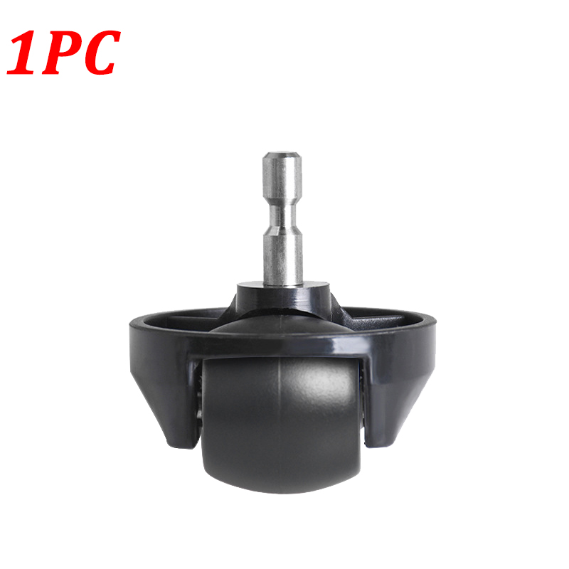 1PC Black Front Castor Wheel For Xiaomi Vacuum 1S For Roborock S55 T4 T6 MI Robot Vacuum Cleaner Replacement Parts Accessories