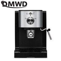 DMWD Italian capsules Coffee machine cappuccino commercial milk foam Bubble instant heating electric espresso coffee maker 20bar