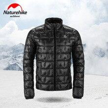 Naturehike 10D нейлон Сверхлегкий Открытый пуховик пальто 1000FP Мужчины Женщины Осень Зима Открытый холодный ветер защита сохраняет тепло
