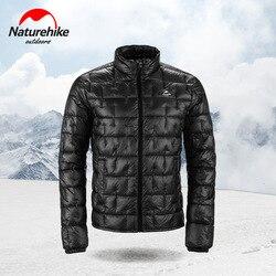 Naturehike 10D Nylon Ultraleicht Outdoor Unten Jacke Mantel 1000FP Männer Frauen Herbst Winter Im Freien Kalte Wind Schutz Warm Halten