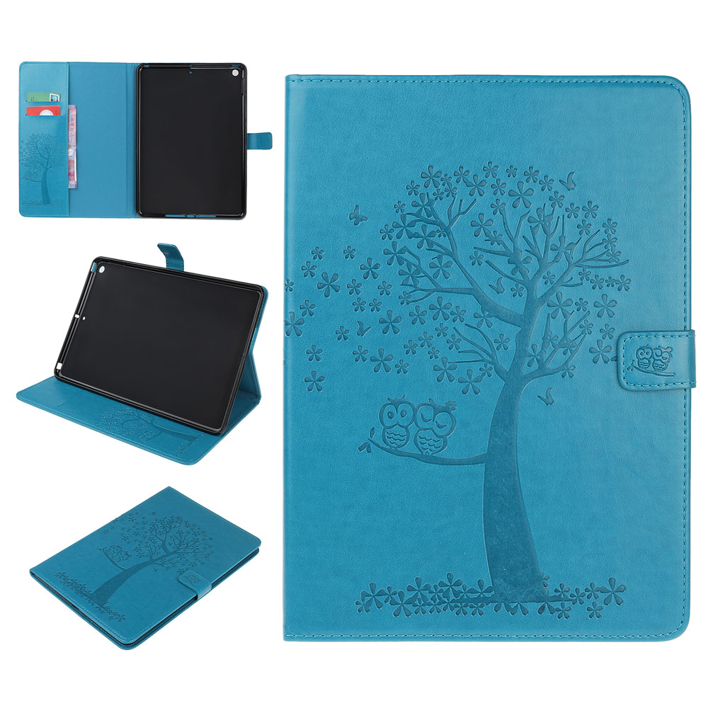 Case Brown Case For iPad 10 2 inch 2019 Stand Auto Sleep Smart Folio PU Leather Cover For