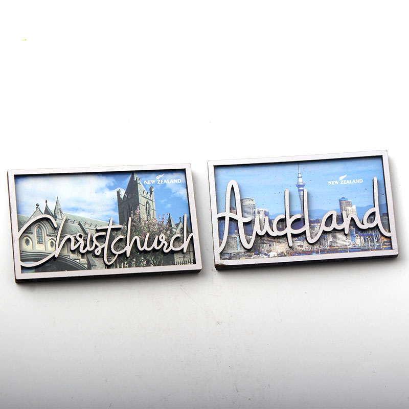 <font><b>New</b></font> <font><b>Zealand</b></font> Travel Tourist <font><b>Souvenirs</b></font> MDF Refrigerator <font><b>Magnets</b></font> <font><b>Fridge</b></font> <font><b>Magnet</b></font> Home Decor image