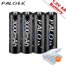 Palo 100% оригинальные 12В aa аккумуляторные батареи 3000 мАч