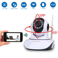 HD 1080P 720P 2MP Home Security IP Kamera Wireless PTZ Mini Überwachungs Kamera Wifi Camara Pet CCTV IR baby Monitor AudioRecord