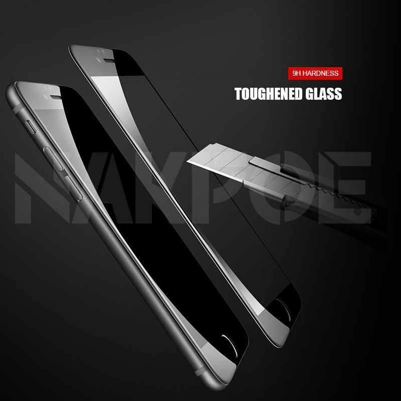 Vidrio Templado Protector 999D para iPhone X XS 11 Pro Xs Max XR, Protector de pantalla de cristal para iPhone 7 8 6 6S Plus SE 2020, película de cristal