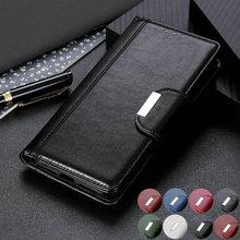 حافظة جلدية بغطاء مغناطيسي 360 درجة لهاتف Nokia 2.4 ، حافظة فاخرة مع فتحة للبطاقات لهاتف Nokia 2.4 ، Nokia2.4