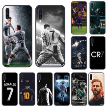 Ronaldo Football superstar Lionel Messi Phone Case Cover For Samsung A50 60 70 A6 A8 2018 plus A7 A9 750 920(China)