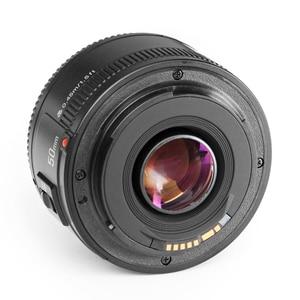 Image 3 - YONGNUO YN50mm F1.8 Obiettivo di 6 Elementi in 5 Gruppi di Grande Apertura AF Messa A Fuoco Automatica FX DX Full Frame Lente per nikon D800 D300 D700