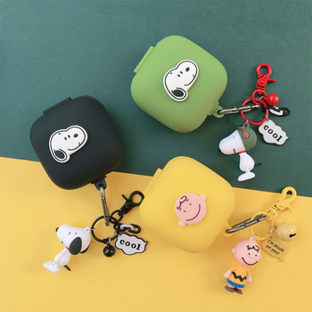 Earphone Silicone Cover for Beats Powerbeats Pro Case Portable Wireless Bag Bluetooth Accessories Boy Dog Decor Keyring