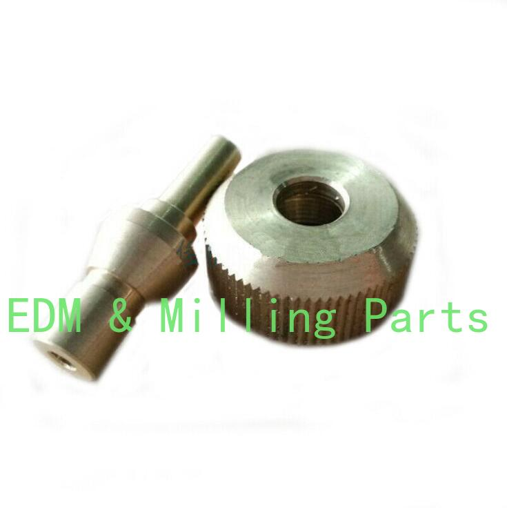 Punching Machine High Pressure Pump Drill EDM Rotating Head Part Nut And Mandrel For EDM Drilling Machine