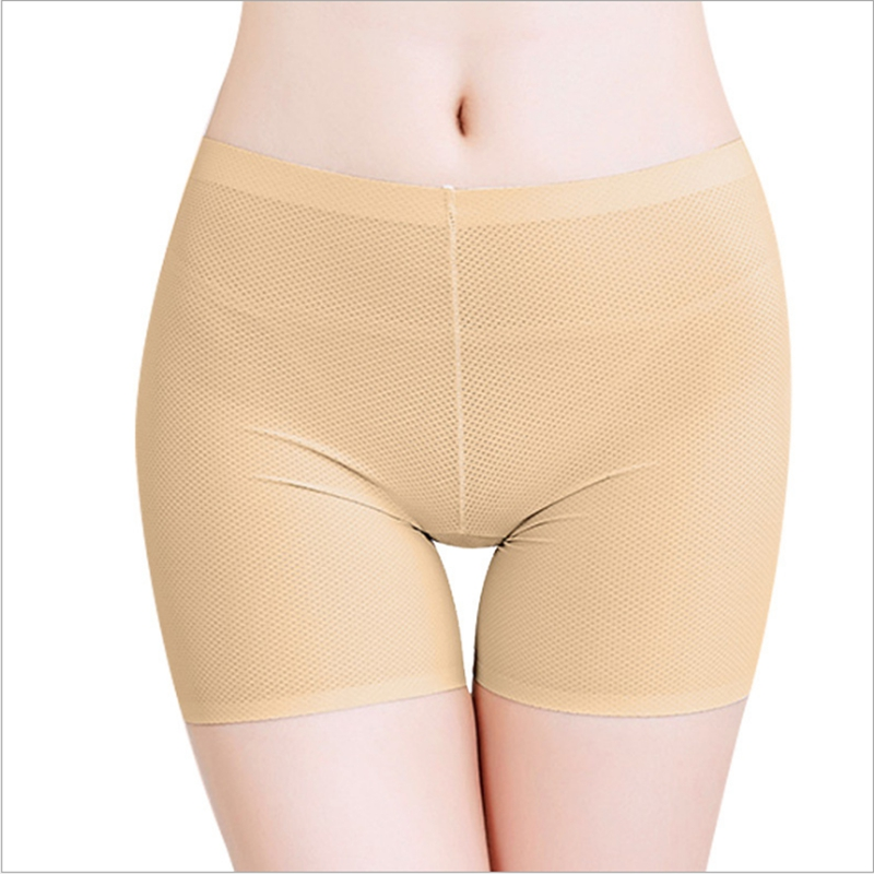 Prevent Thigh Chafing Shorts for Under Skirts Tight Shorts Summer Knickers Shorty Safety Pants Ladies Under Wear Female Panties in Safety Short Pants from Underwear Sleepwears