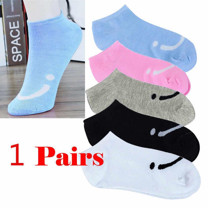 1Pairs Hohe Qualität frauen Socken Komfortable Candy Farbe Baumwolle Socke Hausschuhe Kurze Knöchel Socken