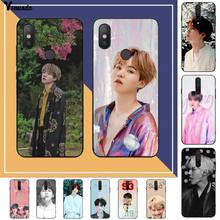 Yinuoda Suga K Pop Min Yoongi K Pop Luxury Phone Case for RedMi note 9 4 5 6 7 5a 8 9 pro max 4X 5A 8T