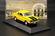 IXO Altaya 1:43 Ford Corcel GT 1971 Car Diecast Toys Models Auto Collection Yellow Gifts auto inn ixo 1 43 gurgel carajas corpo de bombeiros diecast model car