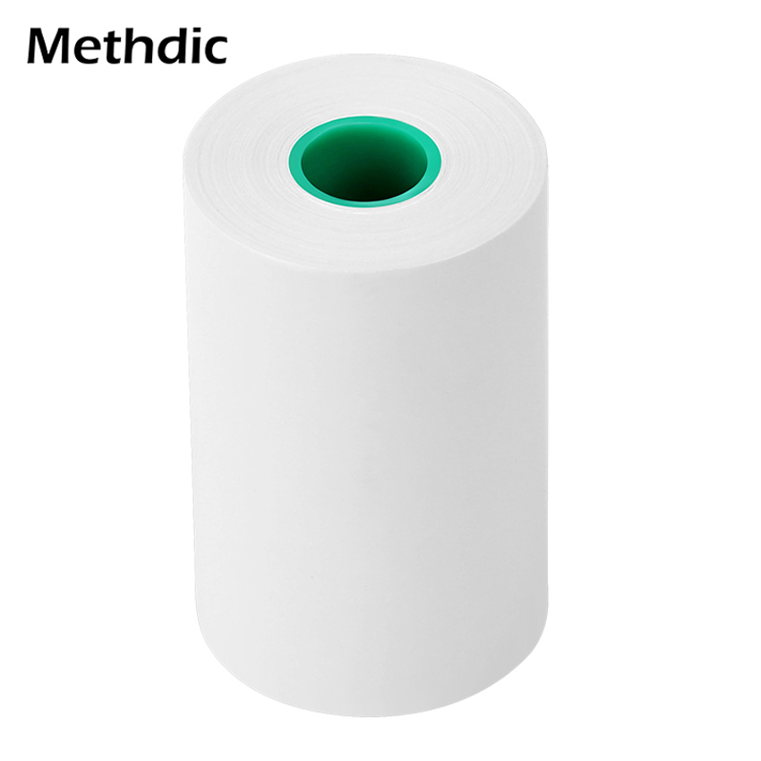 Methdic 10 Rolls Thermal Cash Register Smooth  Thermal Paper Rolls 57*50mm