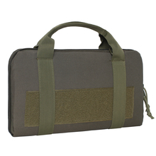 Tactical Single Pistol Case Military Pistol Hand Gun Bag Gun Rug Outdoor Soft Pistol Carrying Case цены
