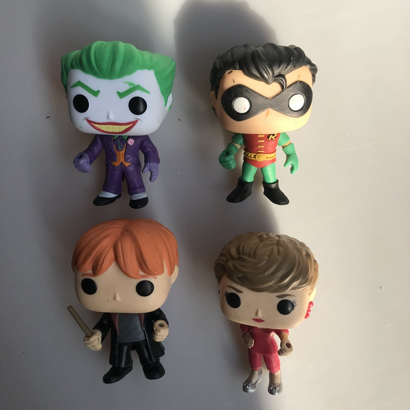 Funko Collectible-Model Action-Figure Joker Harry-Ron Robin Original Toy Vinyl No 1pcs