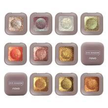 Novo 10 cores única sombra de olho fosco durável à prova dlasting água shimmer pérola luz sombra pigmento shimmer em pó maquillaje tslm1