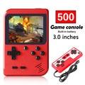 400 В 1 портативная игровая консоль 8 бит Ретро видеоплеер 3,0 дюйма карманный мини геймпад поддержка двух игроков для детей подарок