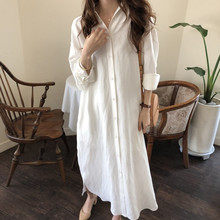 Loose Linen Maternity Breastfeeding Blouses Shirts Clothes 2