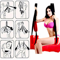 Couples Sex Swing Super Soft Material Adult Love Game Bandage Chairs Hanging Door Swing Outdoor Furniture High Quality