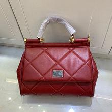 Fashion women s bag rhombus leather cowhide shoulder bag large capacity handbags ladies new designer messenger bag