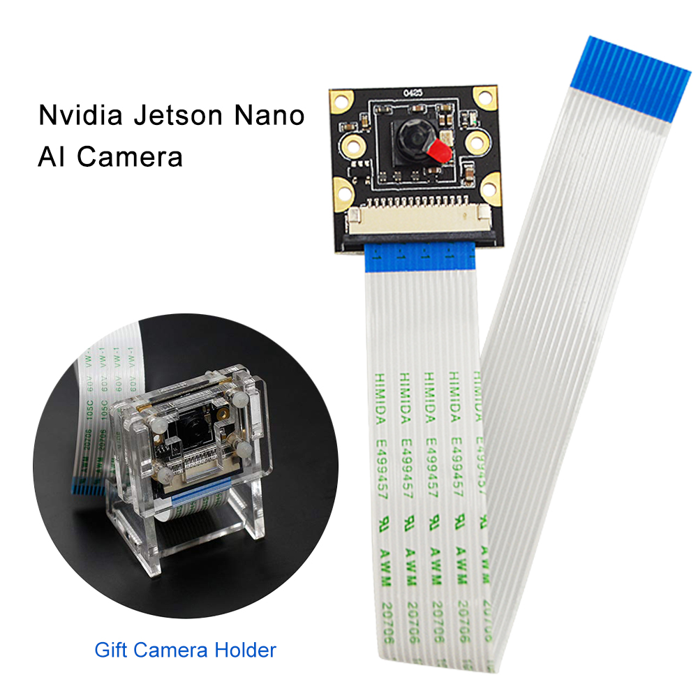 Nvidia Jetson Nano AI Camera For NVIDIA Jetson Nano HD 800M CSI Interface With Camera Case