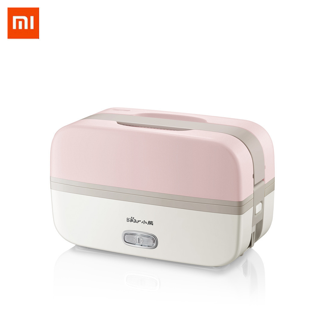 Millet Bear Bfh-b10j2 Electric Heating Lunch Box 270 W/0.5l Double Layer 1 Connected To Warm Kitchen