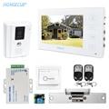 """HOMSECUR 7 """"Hands free Video Tür Eintrag Sicherheit Intercom mit Weiß Monitor: TC011 W + TM704 W-in Videosprechanlage aus Sicherheit und Schutz bei"""