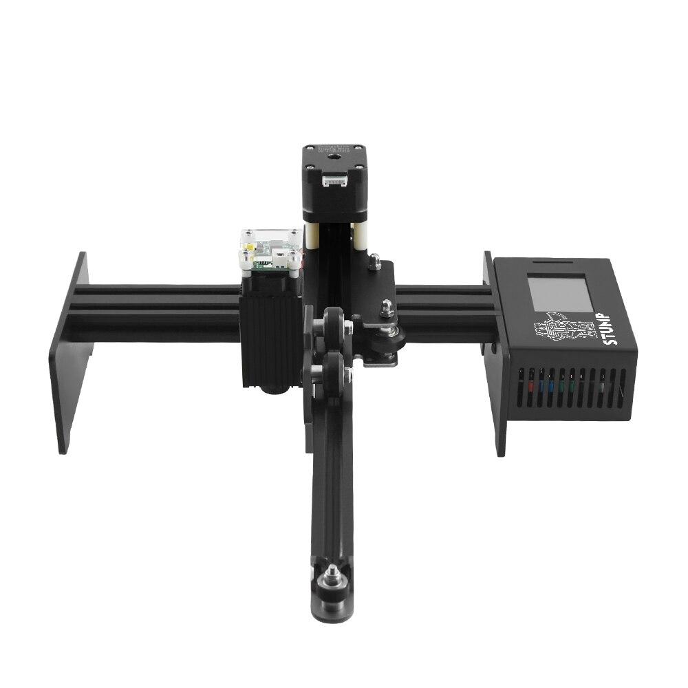Image 2 - 20 Вт 7000 МВт лазерный гравер с ЧПУ лазерный гравировальный станок мини лазерный гравер принтер портативный бытовой DIY Лазерный Гравировальный резак3D принтеры    АлиЭкспресс