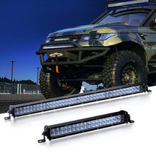 LED Licht Bar 10 zoll 20 Zoll Ultra Slim 5D Objektiv spot strahl led bar 4x4 zubehör off straße führte arbeit lichter Lampe 12V 24V