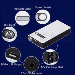 Image 4 - GKFLY 12V Tragbare Auto Starthilfe Notfall Batterie Booster Power bank Wasserdicht mit LED Taschenlampe